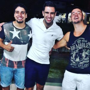 Rodrigo with friends
