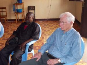 Dalton & MB Pastor Mukashiyenu in Kikwit