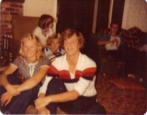 Lori & Dave in 1980