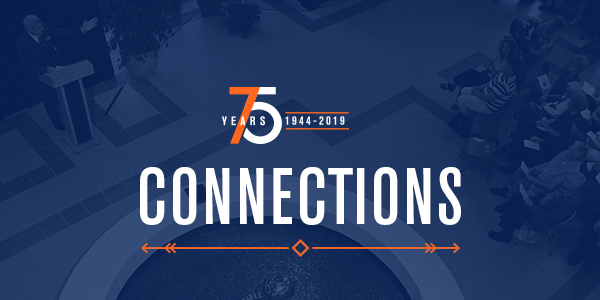 FRESNO PACIFIC UNIVERSITY CELEBRATING 75 YEARS. 1944-2019. CONNECTIONS