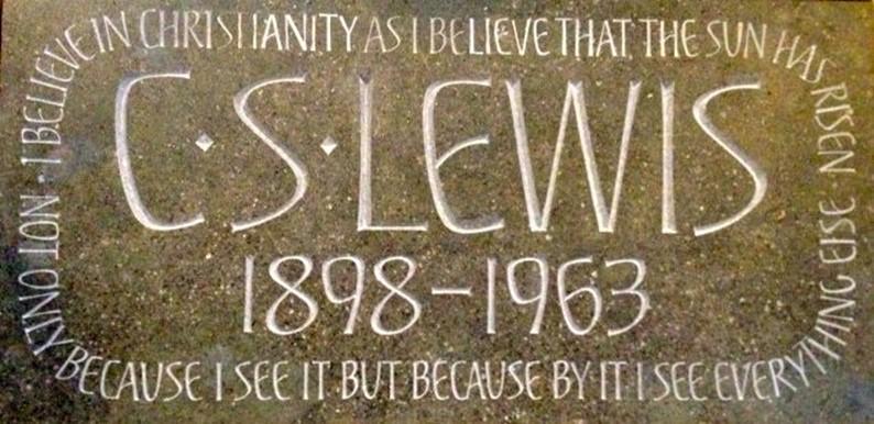 C.S. Lewis Memorial stone