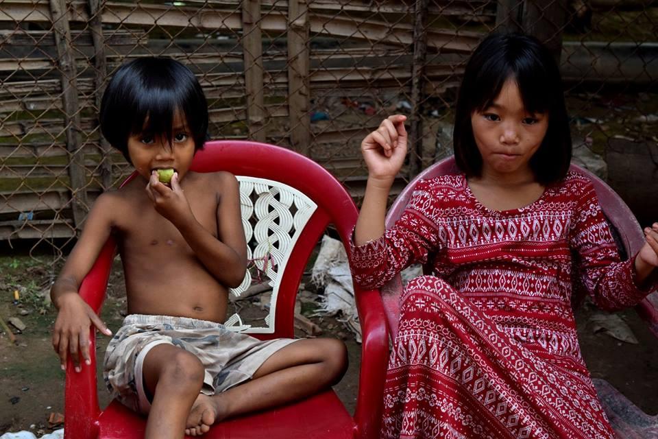 Cham children